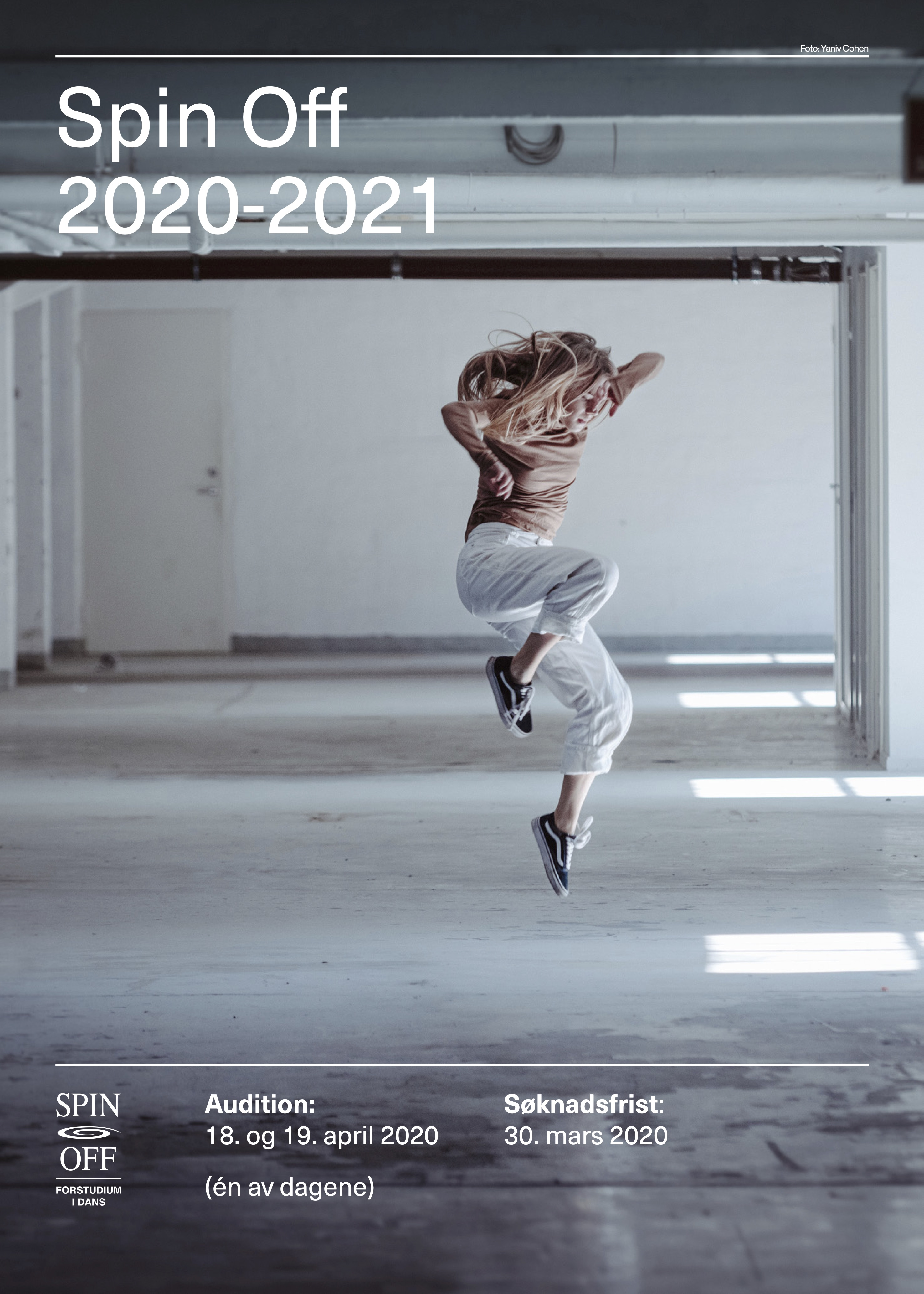 audition 2020 plakat